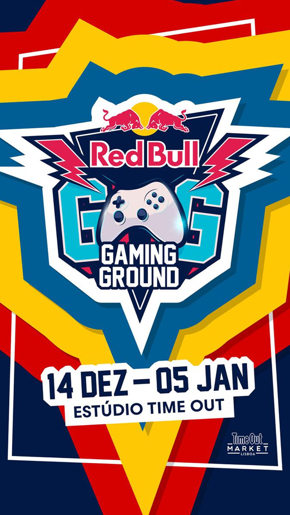 Red Bull Gaming Ground Pop Up